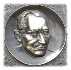 picture - detail of plaque commemorating kurt lewin on the house where he was born.