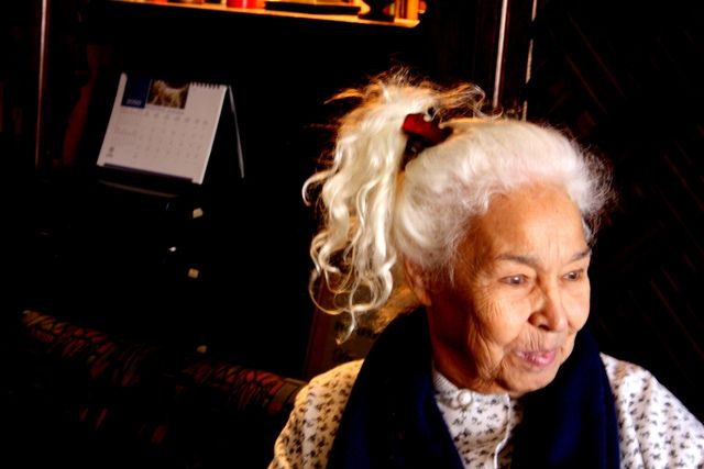 Nawal el Saadawi. Photographed by Matilde LHour and reproduced here under a Attribution-NonCommercial-ShareAlike 2.0 Generic (CC BY-NC-SA 2.0) licence. Sourced from Flickr clepsydre/5338954187/