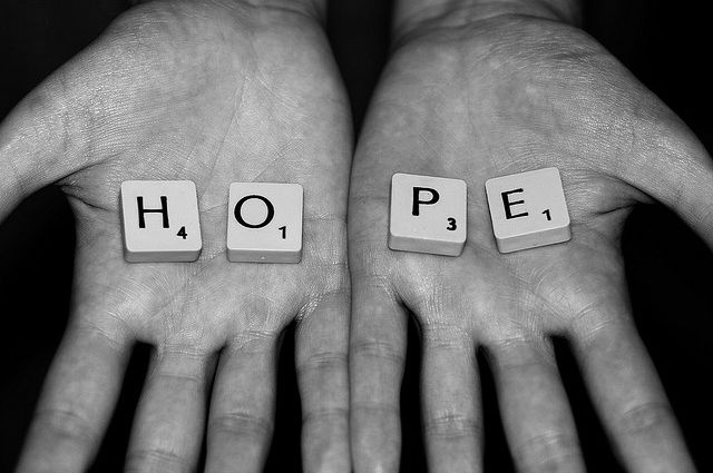 Picture: Hope by Dareen Tunnicliff. Reproduced here under a Creative Commons cc-by-nc-nc 2 licence and sourced from Flickr/4232232092