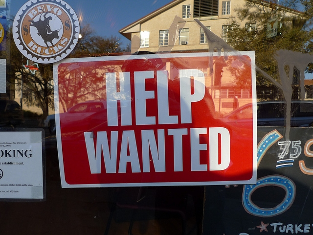 Help wanted by Andreas Klinke Johannsen.Sourced from Flickr and reproduced here under a Creative Commons Attribution 2.0 Generic (CC BY 2.0).