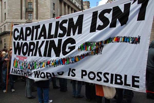 Capitalism isn't working - Tony Hall